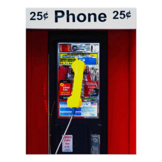 J-Rock Pay Phone Poster