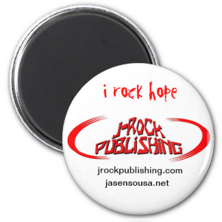 J-Rock Publishing Hope Sticks 2 Inch Round Magnet