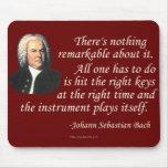 J.S. Bach en jugar Tapete De Raton