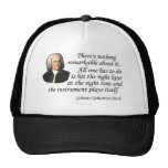 J.S. Bach on Playing Hats