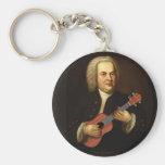 J.S. Bach on Uke Keychain