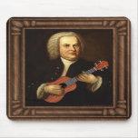 J.S. Bach on Uke Mousepads