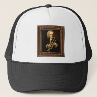 J.S. Bach with Trumpet Trucker Hat