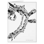 J.S.Bach's Cello Suite Cards
