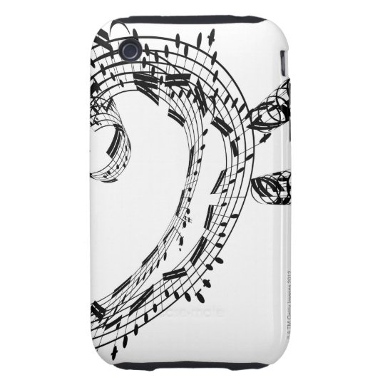 J.S.Bach's Cello Suite iPhone 3 Tough Case