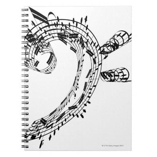 J.S.Bach's Cello Suite Note Book