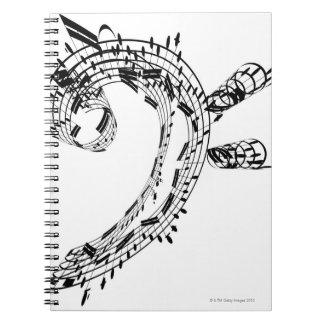 J.S.Bach's Cello Suite Notebook