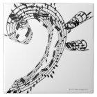 J.S.Bach's Cello Suite Tile