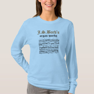 J.S.Bach's organ works T-Shirt