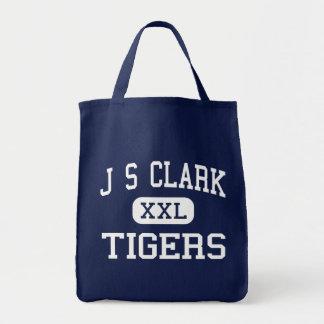 J S Clark Tigers Middle Shreveport Louisiana Tote Bag