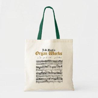 J.S. El órgano de Bach trabaja la bolsa de asas