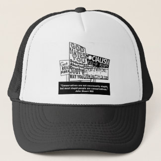 J.S. Mill on Conservatism Trucker Hat