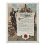J. S. Smith & Co. copy Emancipation Proclamation Canvas Prints