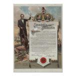 J. S. Smith & Co. copy Emancipation Proclamation Custom Invite