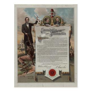 J.S. Smith y proclamación de la emancipación de la Postales