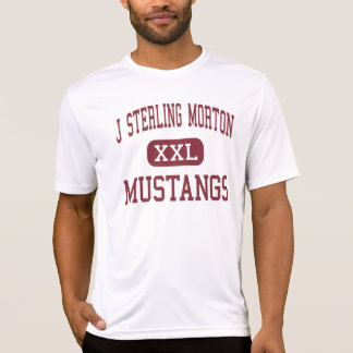 J Sterling Morton - Mustangs - High - Berwyn T-shirt