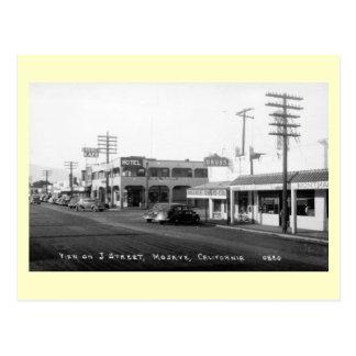 J Street, Mojave, California Vintage Postcard