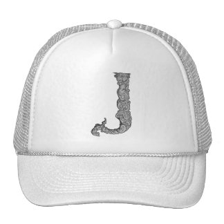 J - The Falck Alphabet (Silvery) Trucker Hat