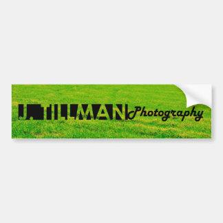 J. Tillman Photo Bumper Sticker Car Bumper Sticker