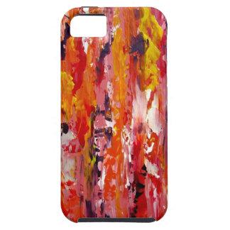J U I C Y - caso abstracto por el arte de Anderson iPhone 5 Funda