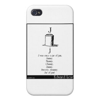 J was once a jar of jam cases for iPhone 4