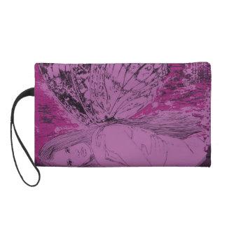 J Wristlet Lilac Whisper Fairy