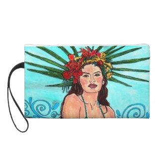 J Wristlet of a Tropical Mermaid