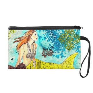J Wristlet of Tranquil Waters Sirena