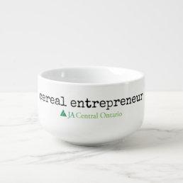 JA cereal entrepreneur bowl