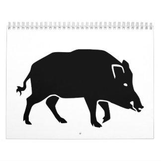 Jabalí Calendarios De Pared