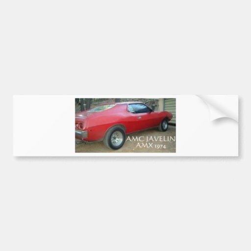 JABALINA AMX 1974 DE AMC PEGATINA DE PARACHOQUE
