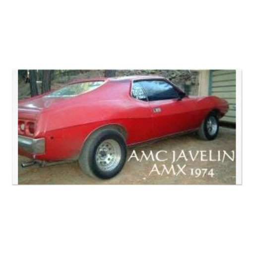 JABALINA AMX 1974 DE AMC TARJETA PERSONAL