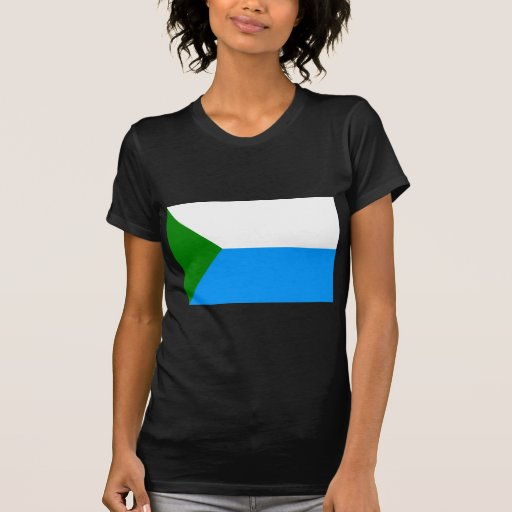 Jabárovsk Krai, bandera de Rusia Camisetas