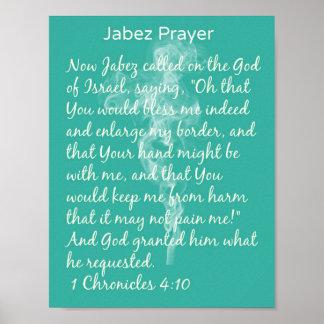 Jabaz Prayer Poster
