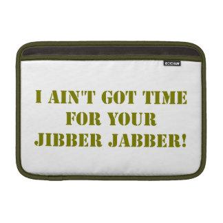 Jabber de color caqui de Jibber Funda MacBook