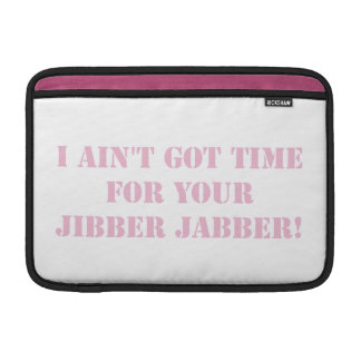 Jabber rosado de Jibber Fundas MacBook
