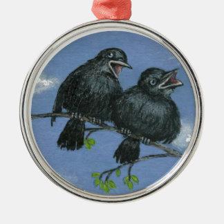 Jabbering Juveniles Ornament