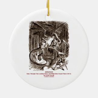 Jabberwock Christmas Tree Ornaments