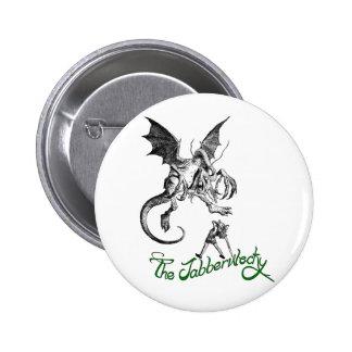 jabberwock pinback button
