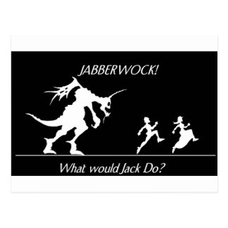 jabberwock post card