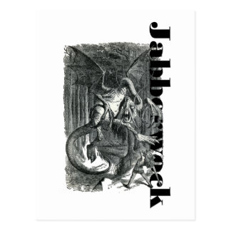 Jabberwock Postcard