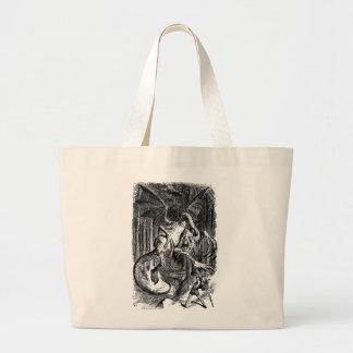 Jabberwocky & Alice Tote Bag