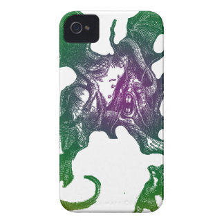 Jabberwocky and Alice iPhone 4 Case-Mate Cases