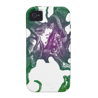 Jabberwocky and Alice Case-Mate iPhone 4 Cover