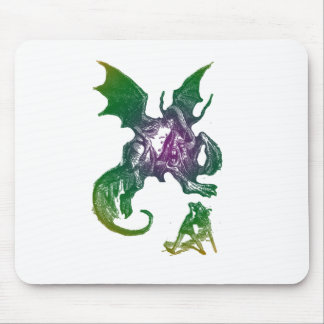 Jabberwocky and Alice Mouse Pad