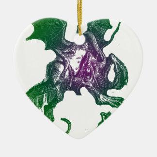 Jabberwocky and Alice Ornaments