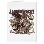 Jabberwocky Carnivale Style Greeting Card