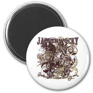 Jabberwocky Carnivale Style Magnet