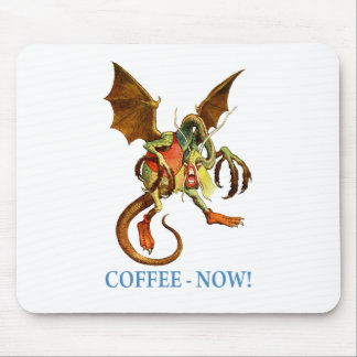 JABBERWOCKY - COFFEE NOW MOUSE PAD