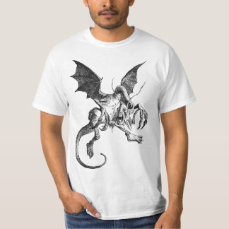 Jabberwocky Engraving and Poem - Tee